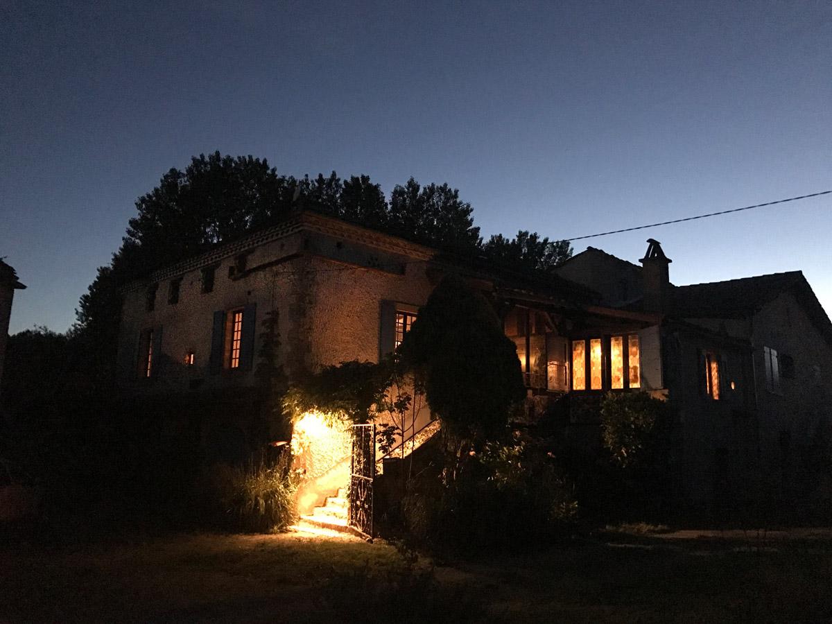 Huis avond