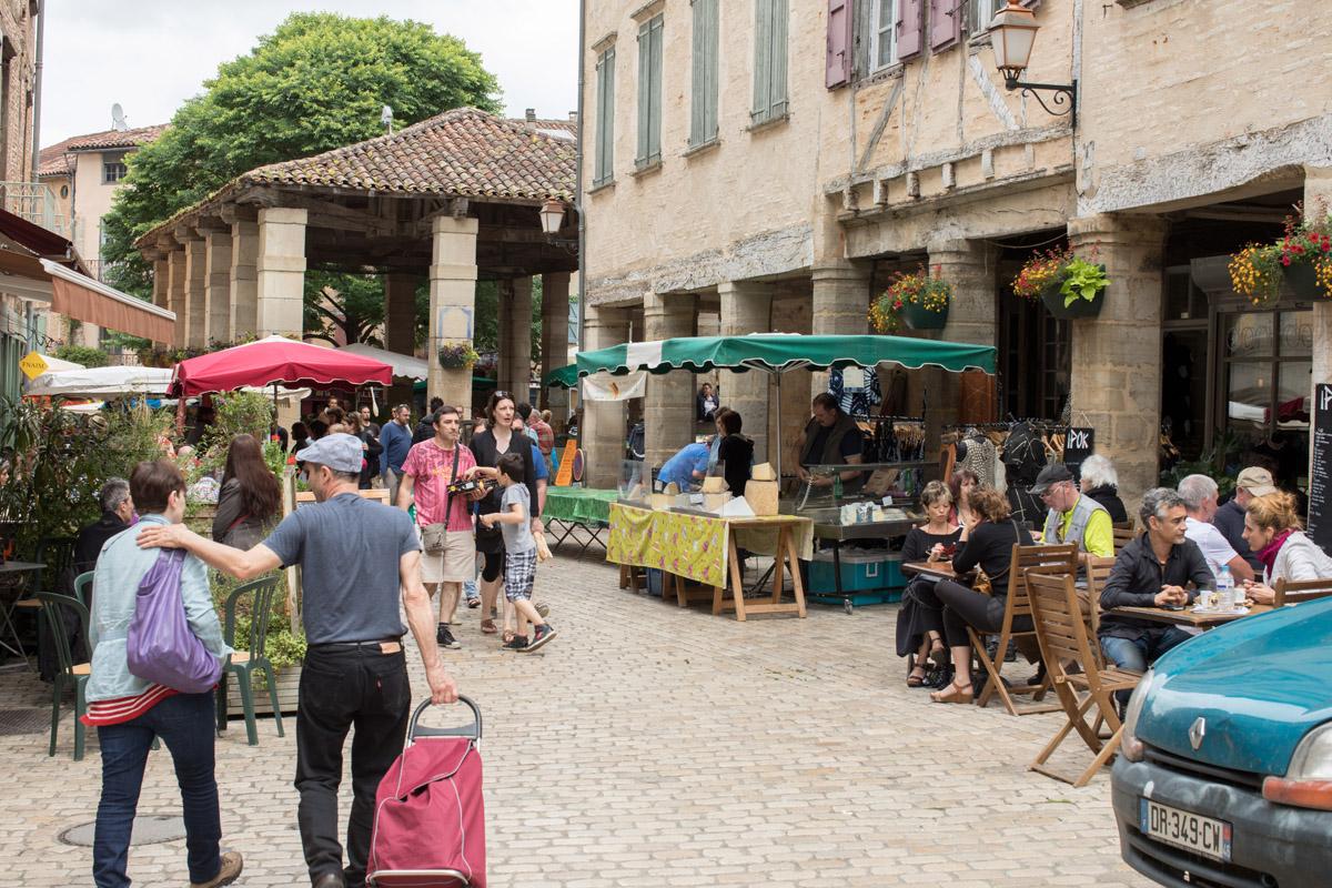 Markt Saint Antonin